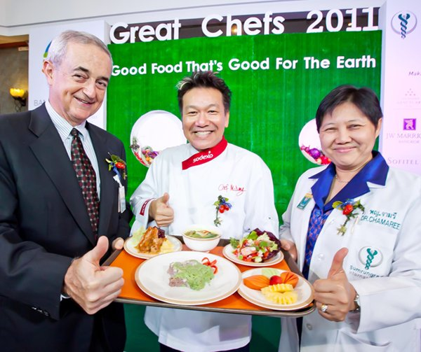 Great Chef 2011 - Helping the environment by serving the right food!