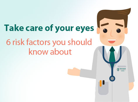 6 common eye problems