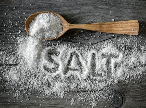 Reducing the consumption of high-sodium foods and effects