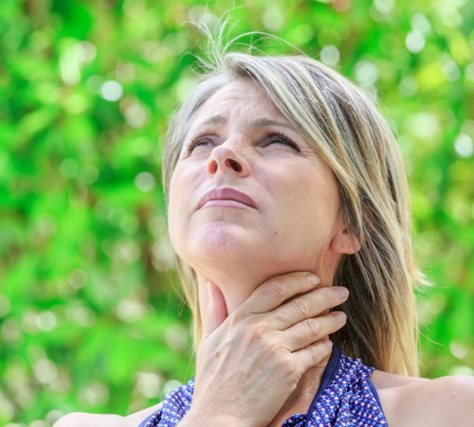 Signs you're suffering from hypothyroidism