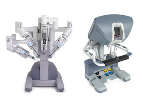 da Vinci Robot minimally invasive surgery for prostate cancer