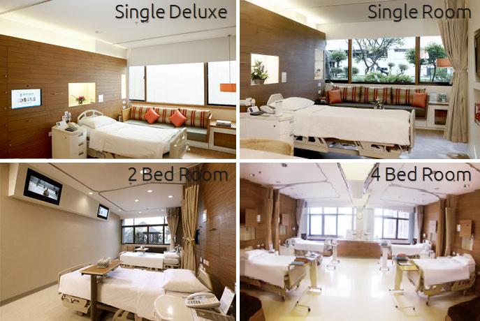Bumrungrad Hospital Bangkok Rooms