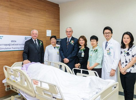 Bumrungrad Hospital Announces Simulation Training Center