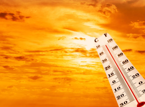 the common warning signs of heat stroke