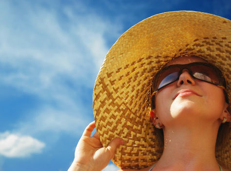 sun negatively affect your skin's health leads to skin cancer