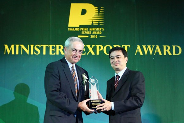 Bumrungrad International only hospital to win Prime Minister's Export Award 2010