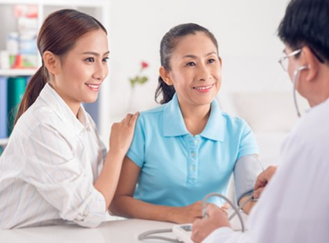 Annual women health checkup in Bangkok Thailand